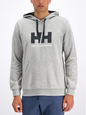 Helly Hansen Helly Hansen Mikina Hh Logo 33977 Sivá Regular Fit