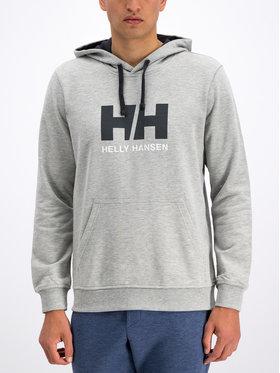 Helly Hansen Helly Hansen Μπλούζα Hh Logo 33977 Γκρι Regular Fit