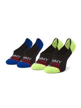 Tommy Jeans Tommy Jeans Sada 2 párů kotníkových ponožek unisex 100000403 Černá