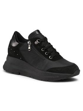 Geox Geox Sneakers D Backsie C D04FLC 04622 C9999 Negru