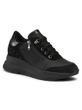 Geox Geox Sneakersy D Backsie C D04FLC 04622 C9999 Czarny
