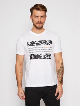 Calvin Klein Calvin Klein T-Shirt Graphic Box K10K105954 Biały Regular Fit