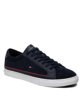 Tommy Hilfiger Tommy Hilfiger Sneakers Essential Suede Mix Winter Vulc FM0FM03725 Bleu marine