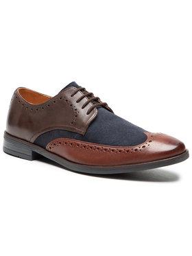 Clarks Clarks Κλειστά παπούτσια Stanford Limit 261565977 Σκούρο μπλε