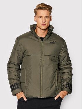 Puma Puma Pernata jakna Essential 587689 Zelena Regular Fit