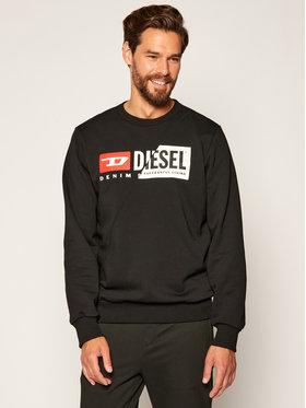 Diesel Diesel Bluza S-Girk-Cuty A00349 0IAJH Czarny Regular Fit