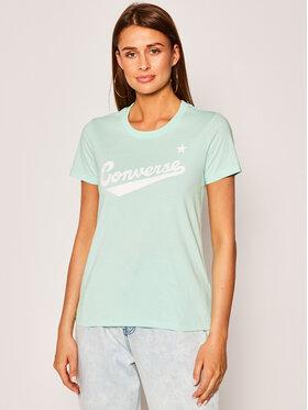 Converse Converse T-Shirt Center Front Logo 10018268-A12 Regular Fit