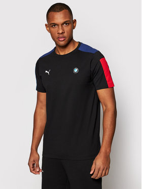Puma Puma T-Shirt Bmw Mms T7 599516 Μαύρο Regular Fit