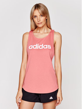 adidas adidas Marškinėliai Essentials GL0629 Rožinė Regular Fit