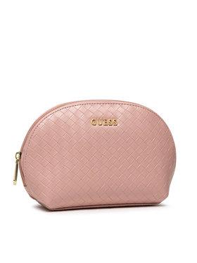 Guess Guess Pochette per cosmetici Emelyn Accessories PWEMEL P1370 Rosa
