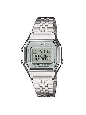 Casio Casio Часовник Vintage LA680WEA-7EF Сребрист