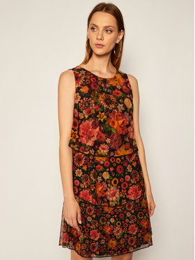 Desigual Desigual Лятна рокля Luisi 20WWVK82 Цветен Regular Fit