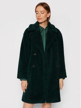 Marella Marella Báránybőr kabát Perak 39060118 Zöld Straight Fit