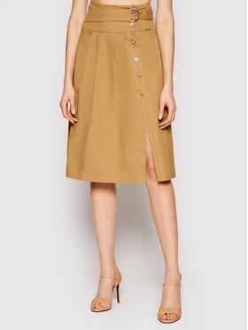 Liu Jo Liu Jo Trapez suknja WA1105 T2398 Smeđa Regular Fit
