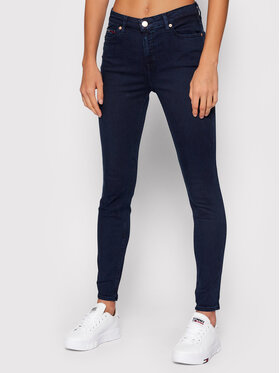 Tommy Jeans Tommy Jeans Jeansy Nora DW0DW09209 Tmavomodrá Skinny Fit