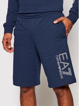 EA7 Emporio Armani EA7 Emporio Armani Pantaloni scurți sport 3KPS73 PJ05Z 1554 Bleumarin Regular Fit