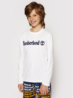 Timberland Timberland Bluse T25S26 S Weiß Regular Fit