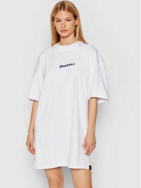 Dickies Dickies Φόρεμα καθημερινό Loretto Λευκό Regular Fit