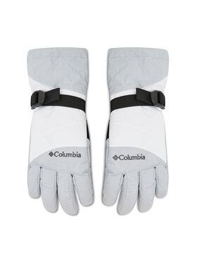 Columbia Columbia Guanti da sci Last Tracks Glove CL3406 Bianco