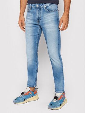 Calvin Klein Jeans Calvin Klein Jeans Jeansy J30J317222 Niebieski Slim Fit