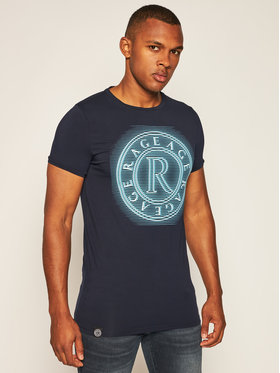 Rage Age Rage Age T-shirt Neonbig 2 Bleu marine Slim Fit