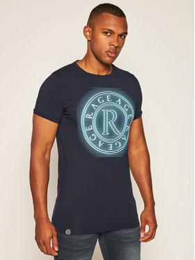 Rage Age Rage Age T-shirt Neonbig 2 Blu scuro Slim Fit
