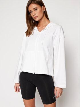 NIKE NIKE Μπλούζα Nsw Hoodie Full-Zip CJ3752 Λευκό Loose Fit