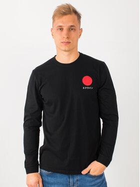 Edwin Edwin Тениска с дълъг ръкав Japanese Sun Ts I026678 TH14J94 8967 Черен Regular Fit