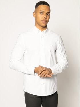 Calvin Klein Calvin Klein Košeľa Oxford K10K105280 Biela Slim Fit