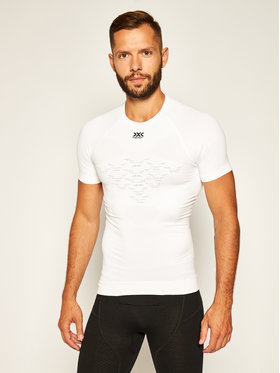 X-Bionic X-Bionic Sous-vêtement thermique haut R-Neck 4.0 NGYT00S19M Blanc Slim Fit