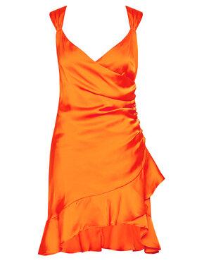 Guess Guess Coctailkleid Larissa W1GK0W WCUN0 Orange Slim Fit