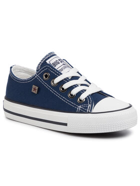 BIG STAR BIG STAR Sneakers aus Stoff FF374202 403 Dunkelblau