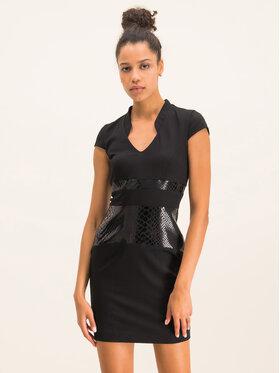 Cavalli Class Cavalli Class Sukienka koktajlowa D2IUB404 Czarny Slim Fit
