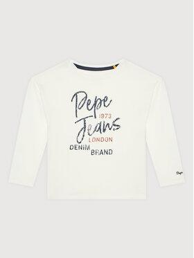 Pepe Jeans Pepe Jeans Halenka Sandri PG502721 Bílá Regular Fit