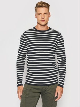 Only & Sons Only & Sons Pulover Wilston Stripe Crew 22020091 Bleumarin Regular Fit