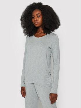 Hanro Hanro Тениска на пижама Yoga 7996 Сив