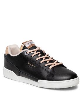 Pepe Jeans Pepe Jeans Sneakersy Lambert Chic PLS31247 Černá