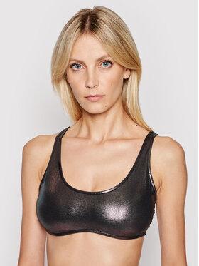 Calvin Klein Swimwear Calvin Klein Swimwear Góra od bikini Bralette Metallic KW0KW01247 Srebrny