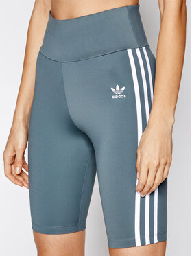 adidas adidas Pantaloncini sportivi adicolor Classics GN2923 Grigio Tight Fit