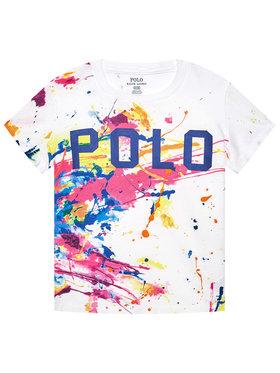 Polo Ralph Lauren Polo Ralph Lauren T-Shirt 311833551001 Biały Regular Fit