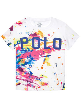 Polo Ralph Lauren Polo Ralph Lauren T-shirt 311833551001 Blanc Regular Fit