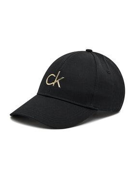 Calvin Klein Calvin Klein Kepurė su snapeliu Re-Lock Bb Cap K60K608211 Juoda