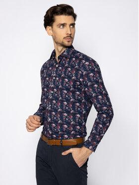 Pierre Cardin Pierre Cardin Marškiniai 8447/000/27061 Tamsiai mėlyna Slim Fit