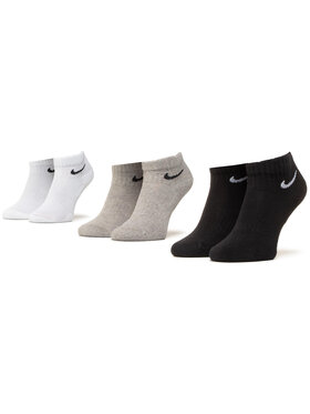 NIKE NIKE Комплект 3 чифта къси чорапи унисекс SX7667 901 Цветен