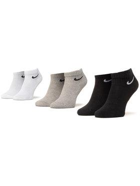 Nike Nike Σετ 3 ζευγάρια κοντές κάλτσες unisex SX7667 901 Έγχρωμο