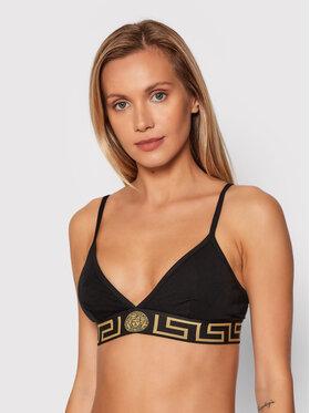 Versace Versace Biustonosz braletka Greca 1000656 Czarny