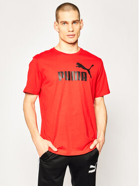 Puma Puma T-Shirt Essential Tee 851740 Červená Regular Fit