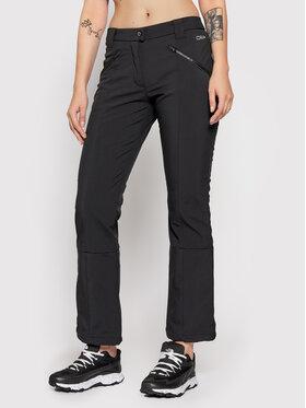 CMP CMP Outdoorové nohavice 38A1586 Čierna Regular Fit