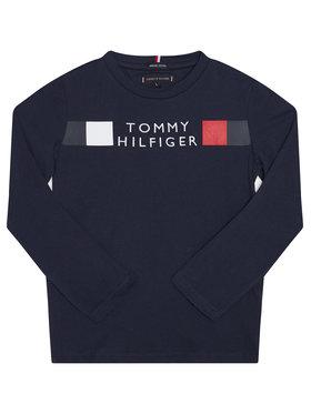 TOMMY HILFIGER TOMMY HILFIGER Bluză Msw Global Stripe KB0KB06108 D Bleumarin Regular Fit