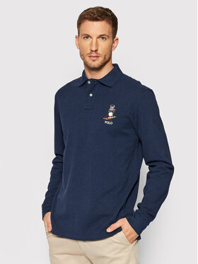 Polo Ralph Lauren Polo Ralph Lauren Polohemd 710853322001 Dunkelblau Slim Fit